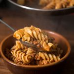 Tortiglioni with Meat Ragout